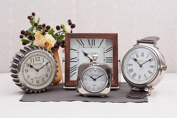 Часы настенные механические интерьерные