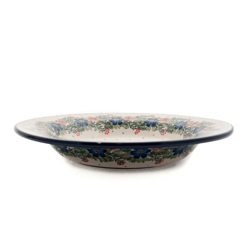 Тарелка для супа Ceramika Artystyczna Лесной веночек 23 см