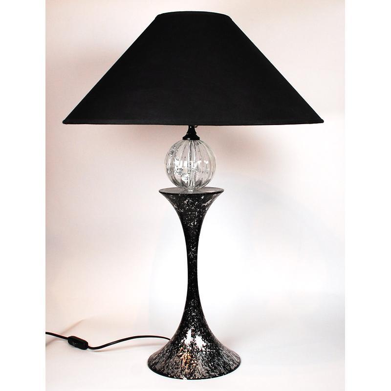 Настольная лампа с декором из сусального золота Fusaroli