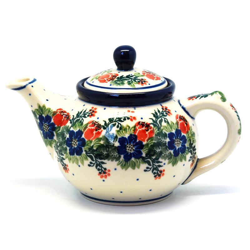 """Чайный заварник с ручной росписью """"Лесной веночек"""""""