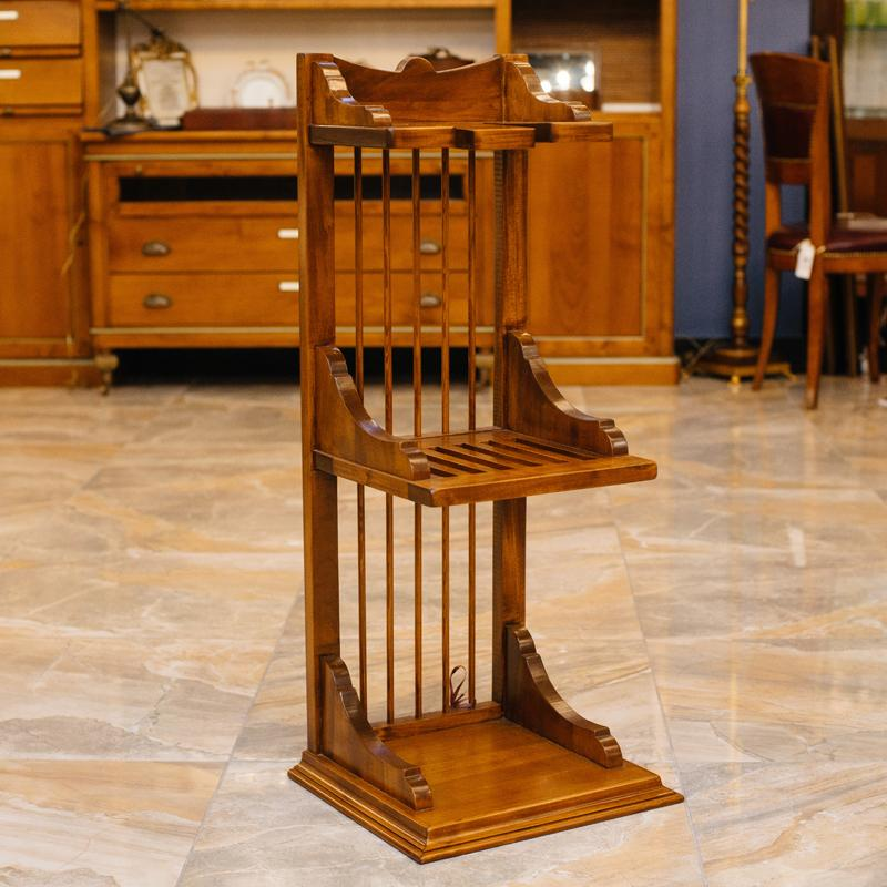 Кухонная полка из дерева ручной работы Salaiolo