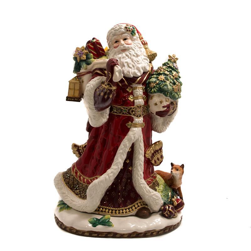 """Статуэтка Дед Мороз """"Праздник ренессанса"""""""