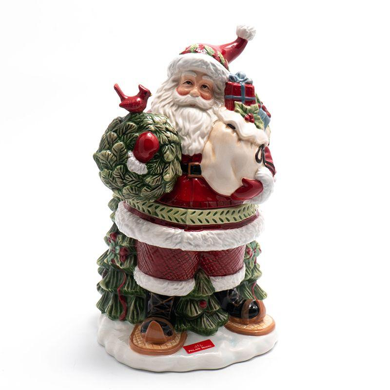 """Бисквитник в форме Деда Мороза """"Заколдованный лес"""""""