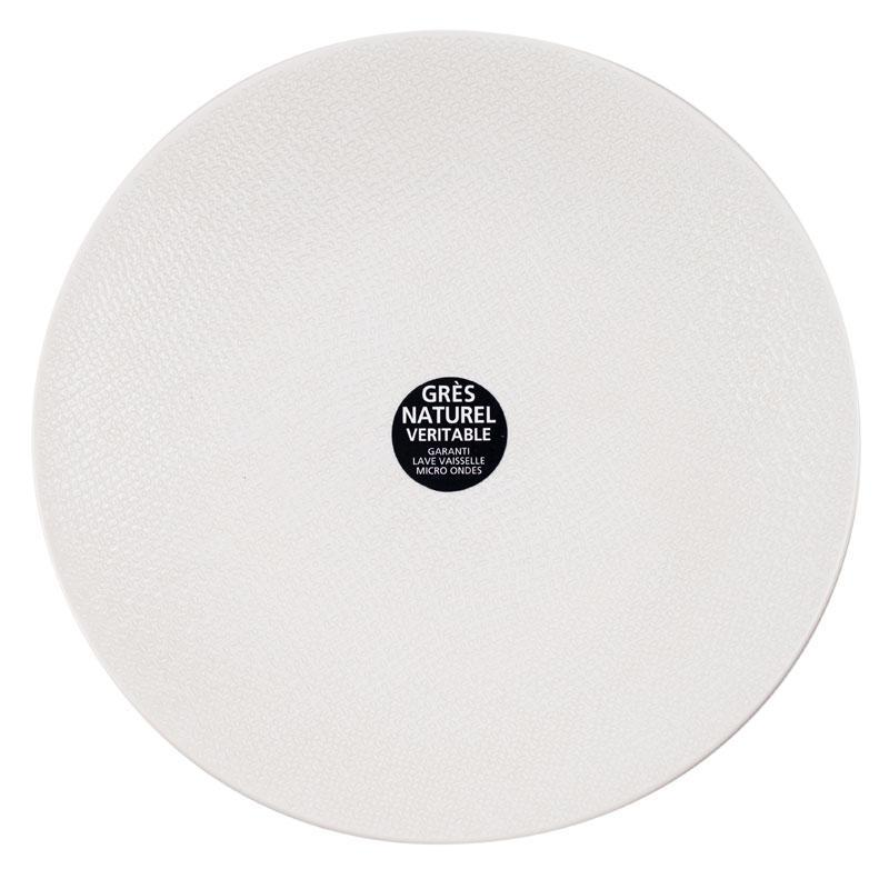 Десертная тарелка из белой керамики Vesuvio