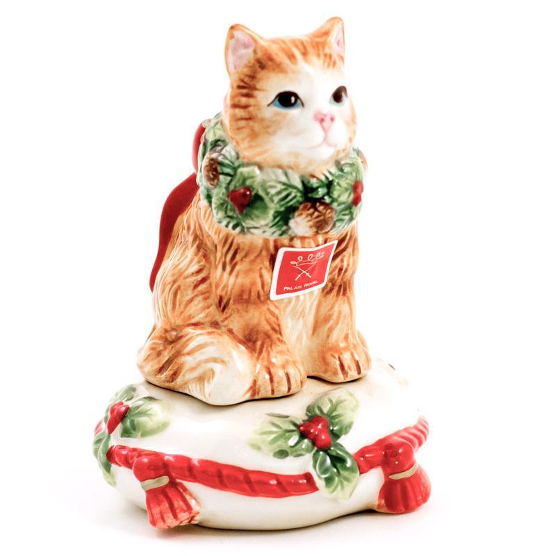 """Набор для соли и перца """"Нарядный котенок"""""""