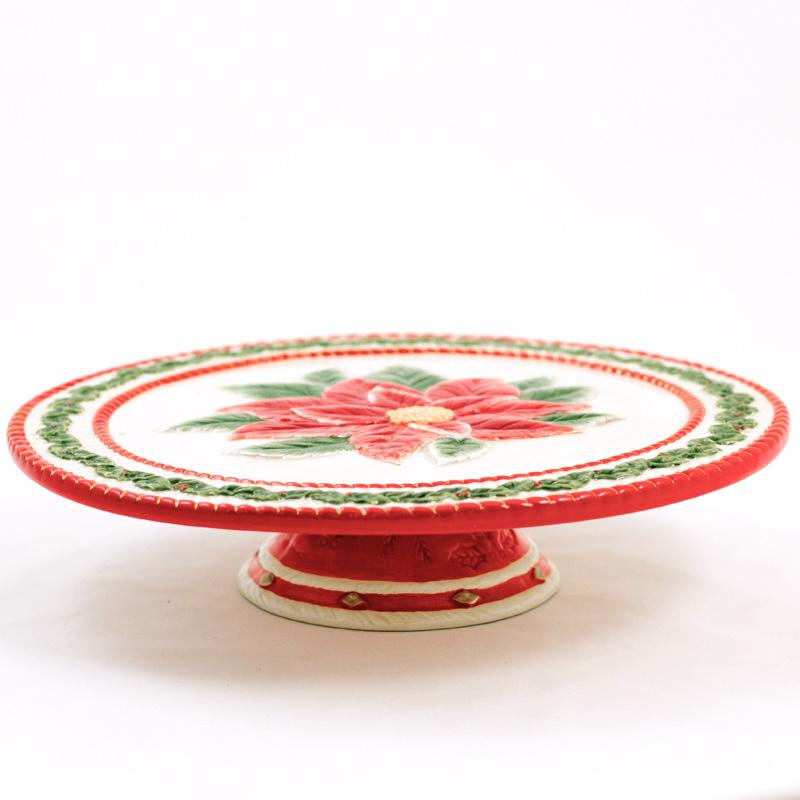 """Тортовница """"Рождественская роза"""""""
