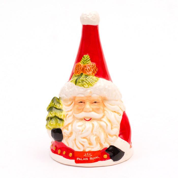 """Яркий керамический колокольчик """"Смеющийся Санта"""""""