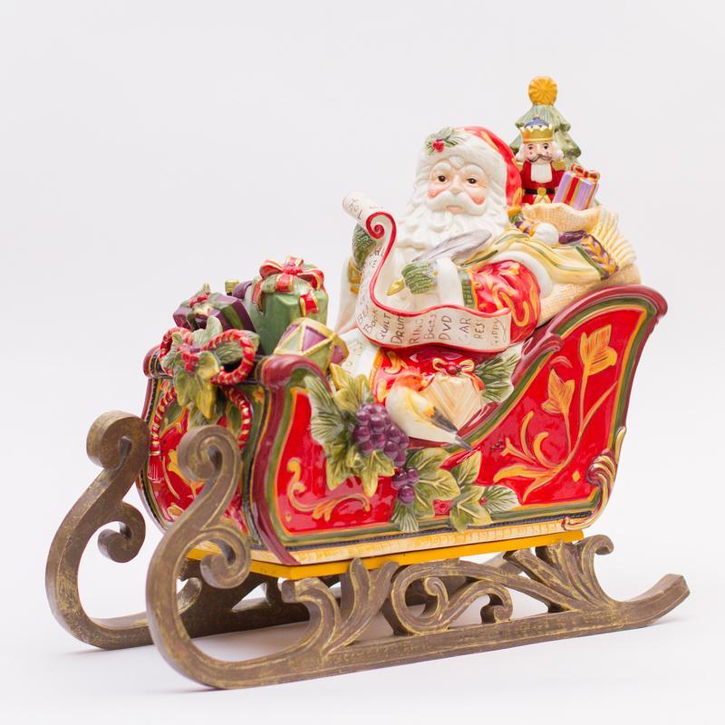 Бисквитник Дед Мороз