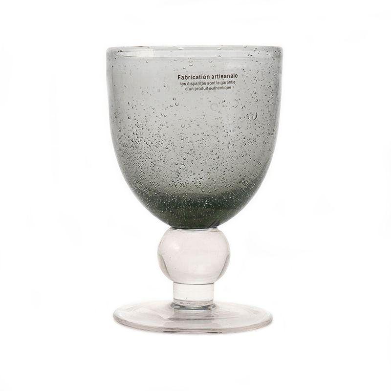 Бокал для вина из стекла с капельками воздуха Bastide