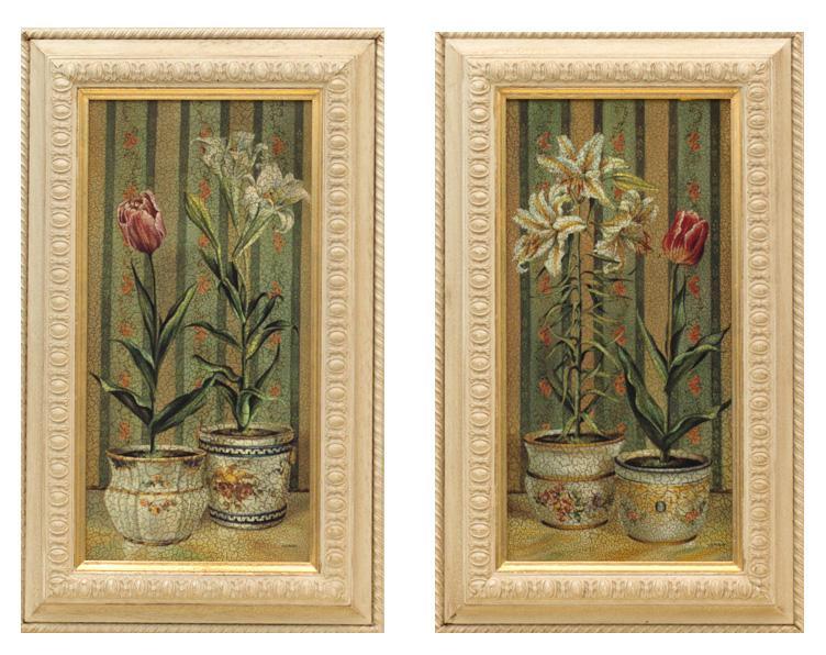 "Набор из 2-х картин ""Цветы"""