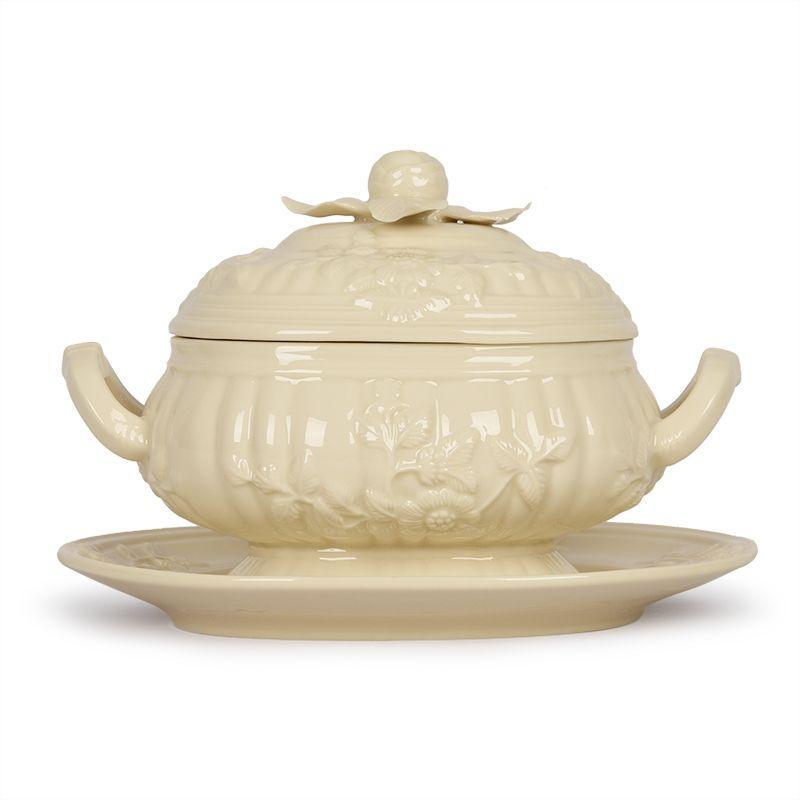 Емкость для горячего на подставной тарелке Crema