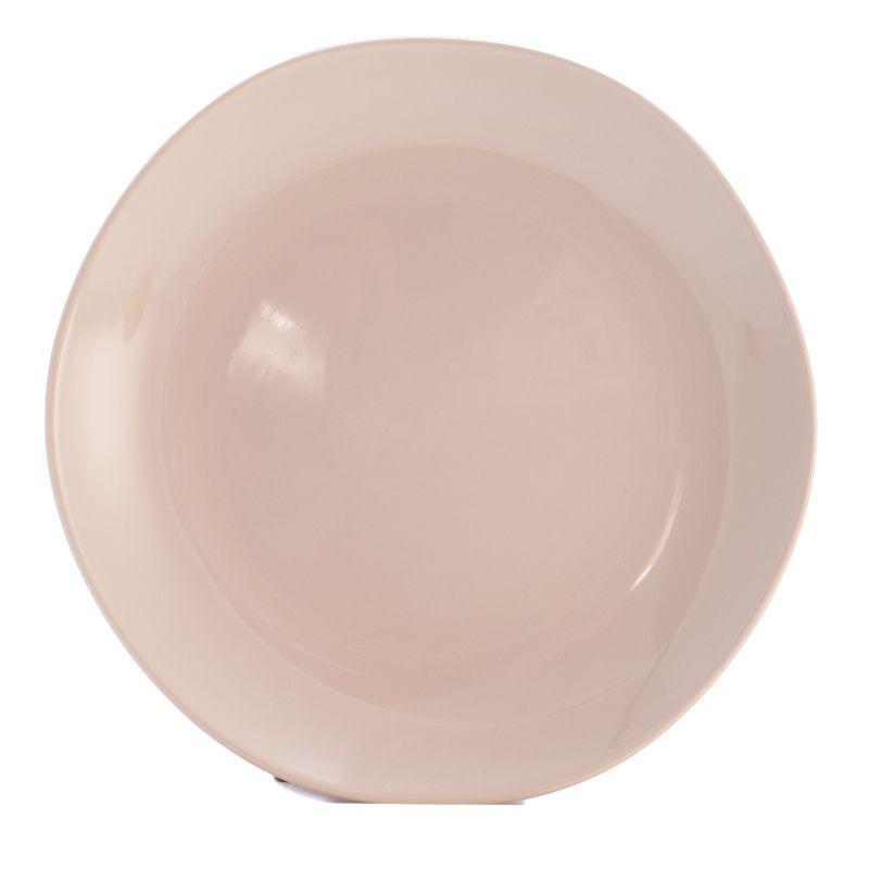 Тарелки обеденные бежевые, набор 6 шт. Ritmo