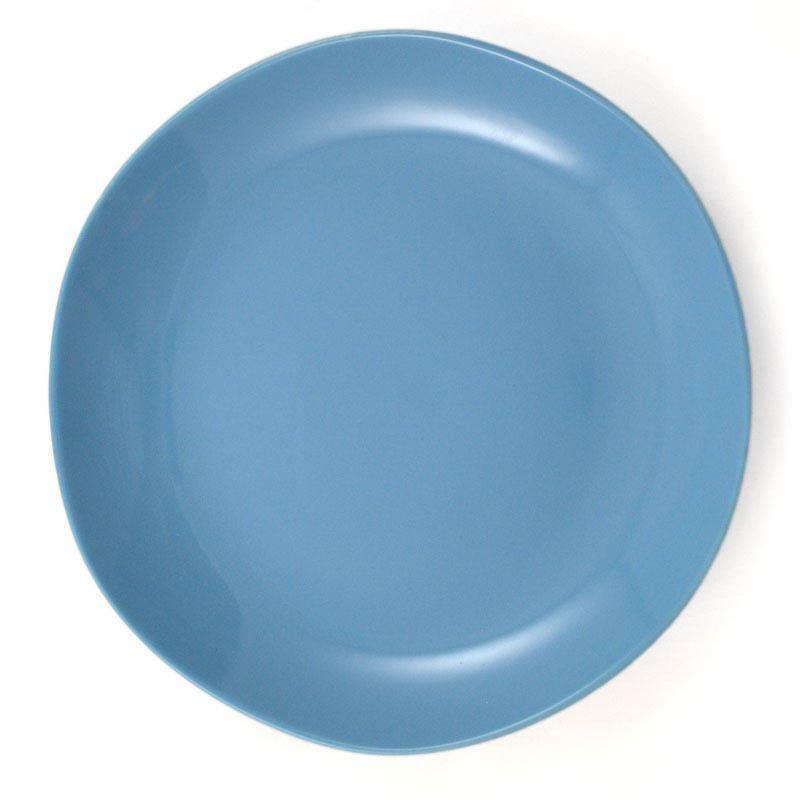 Набор из 6-ти обеденных тарелок голубого цвета Ritmo