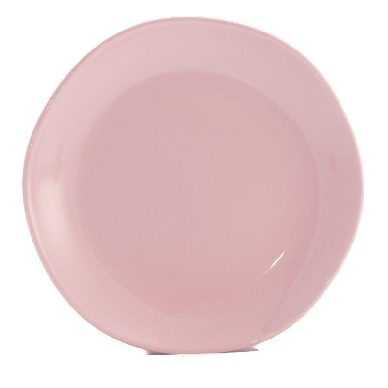 Тарелка десертная розовая Ritmo