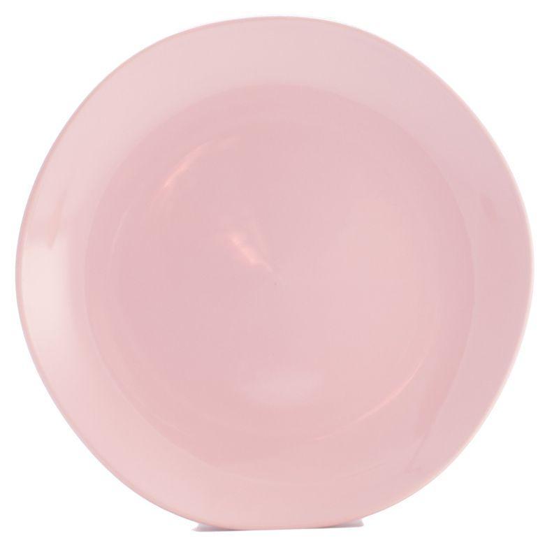 Тарелки обеденные розовые, набор 6 шт. Ritmo