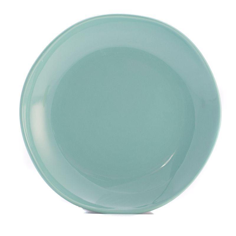 Тарелка десертная бирюзовая Ritmo
