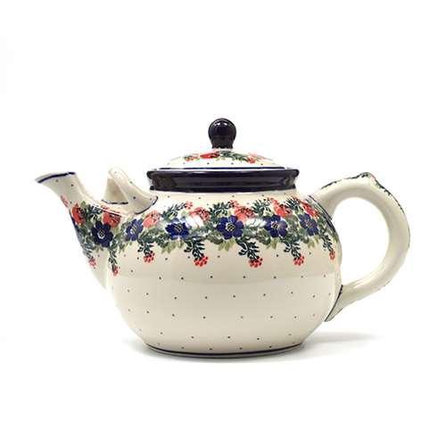 """Чайничек керамический для чая """"Лесной веночек"""""""