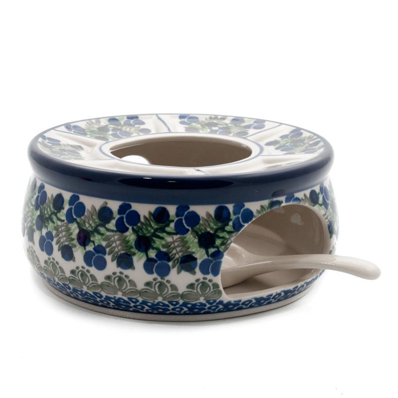 """Горелка для чайника с орнаментом """"Ягодная поляна"""""""