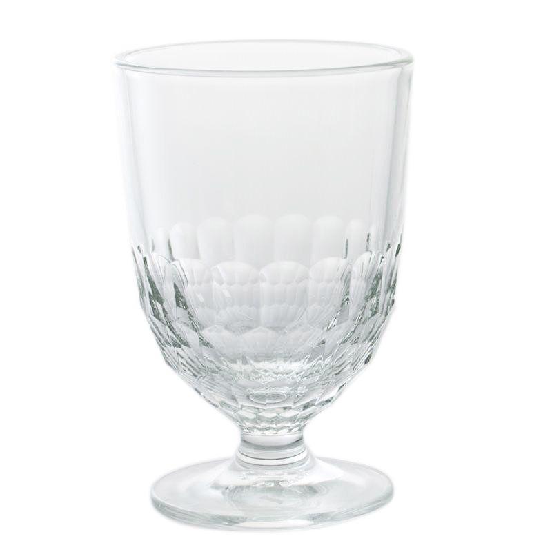 Набор стеклянных бокалов с текстурой Bastide, 6 шт
