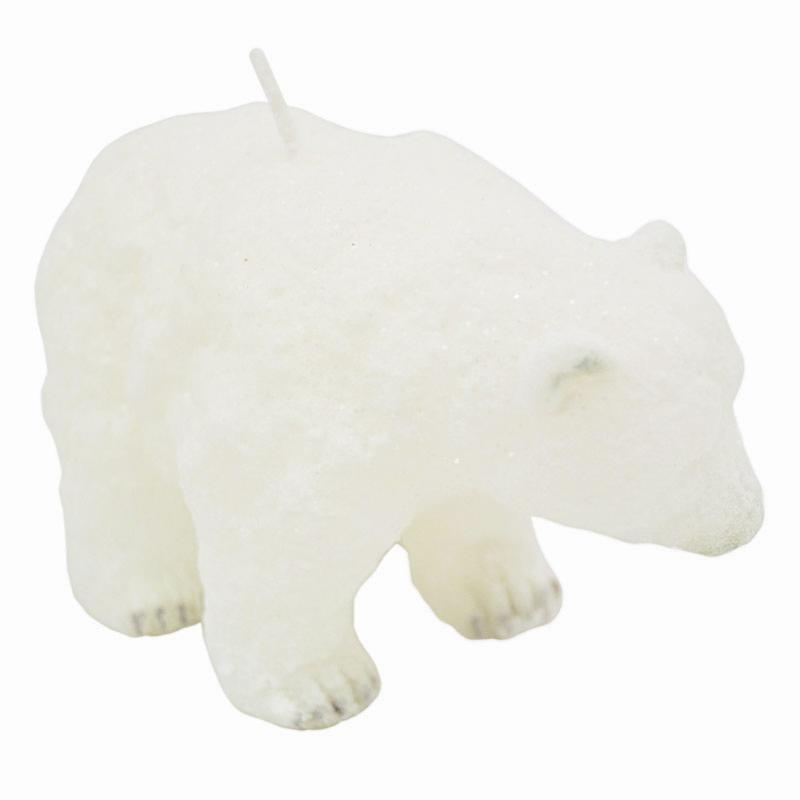 """Свеча """"Белый медведь"""""""
