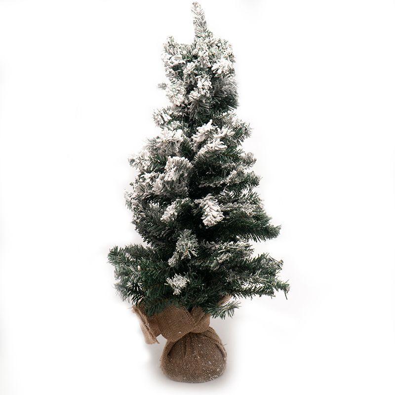 Искусственная новогодняя елка с декоративным снегом Mercury