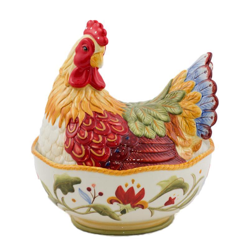 Салатник с крышкой Курица-несушка