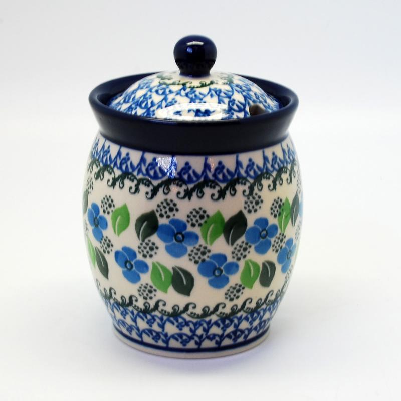 """Небольшая емкость для меда из керамики """"Вербена"""""""