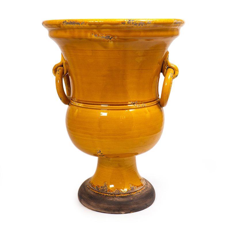 """Высокая керамическая ваза """"Помпеи"""" Bizzirri"""