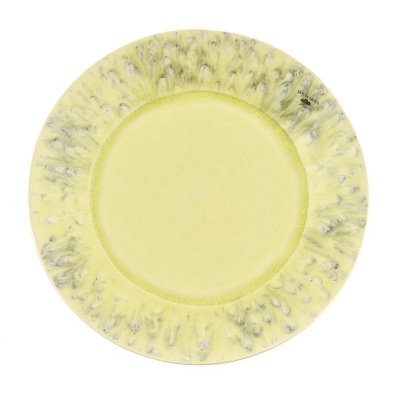 Лимонная обеденная тарелка Madeira