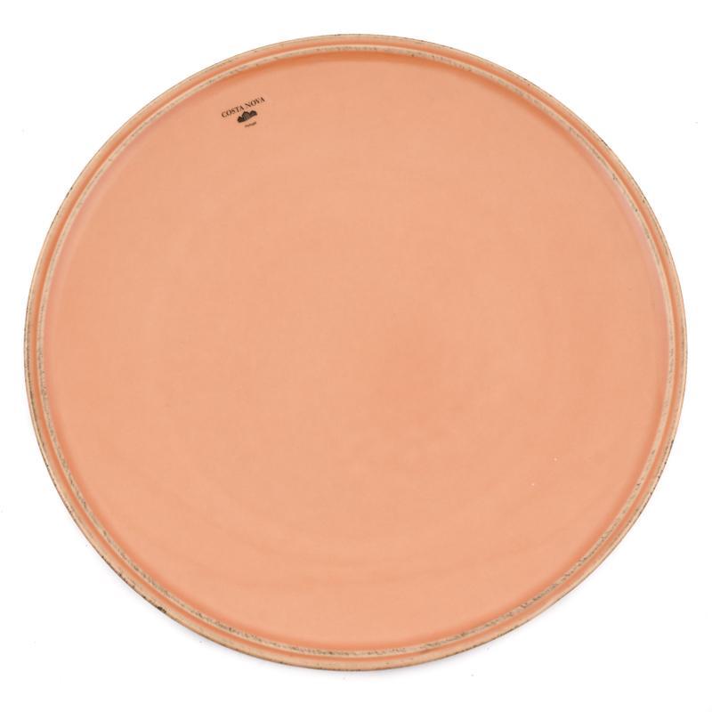Тарелка обеденная терракотовая Friso
