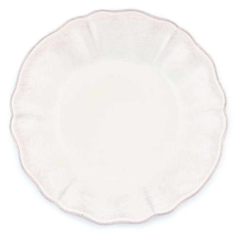 Тарелки суповые белые, набор 6 шт. Alentejo