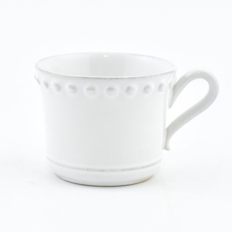 Белая чашка 300 мл Pearl