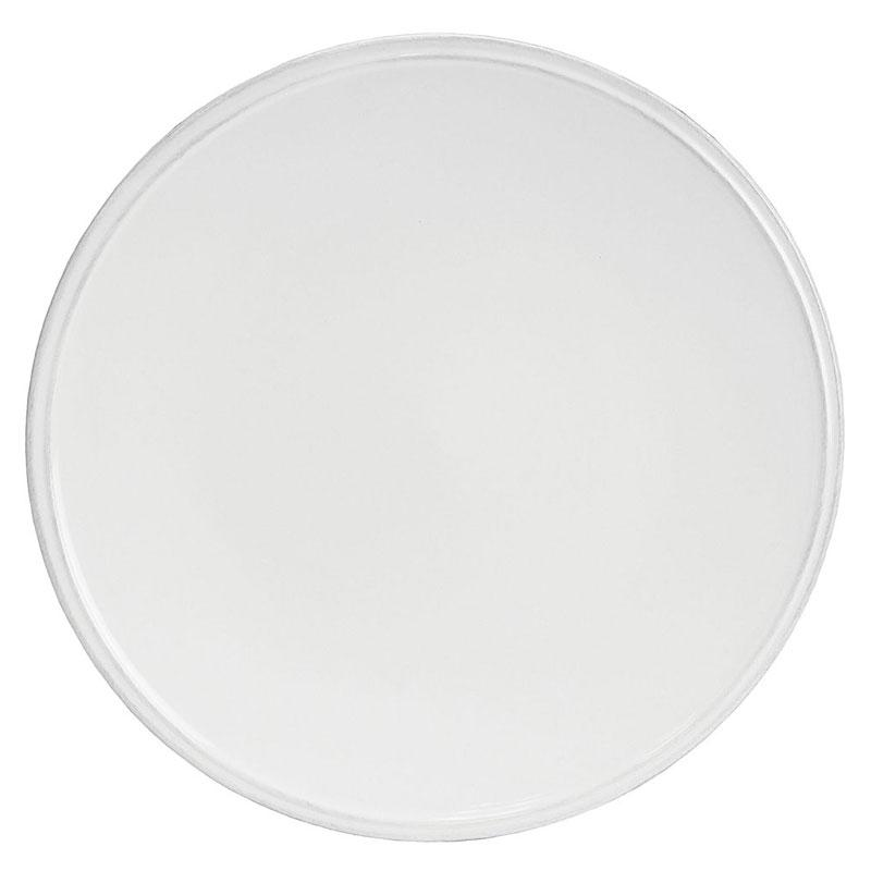 Тарелка обеденная белая Friso