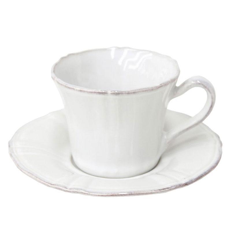 Набор чайных чашек с блюдцем 6 шт Village
