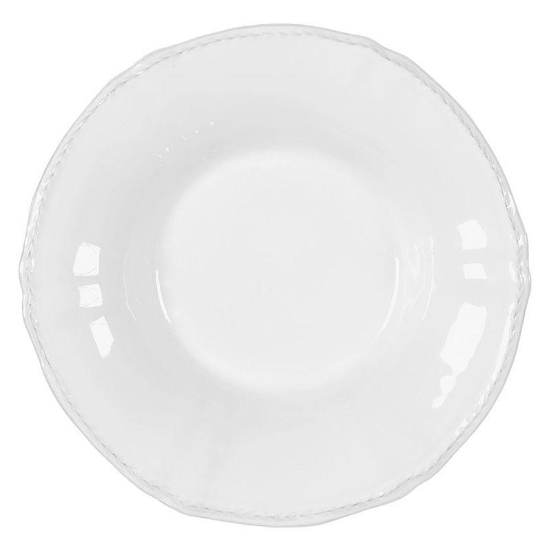 Тарелка для супа белая Village