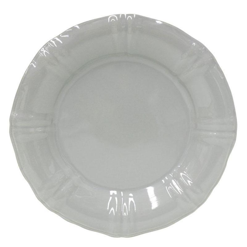 Тарелки обеденные серые, набор 6 шт. Village