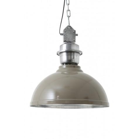 Подвесной светильник серо коричневый