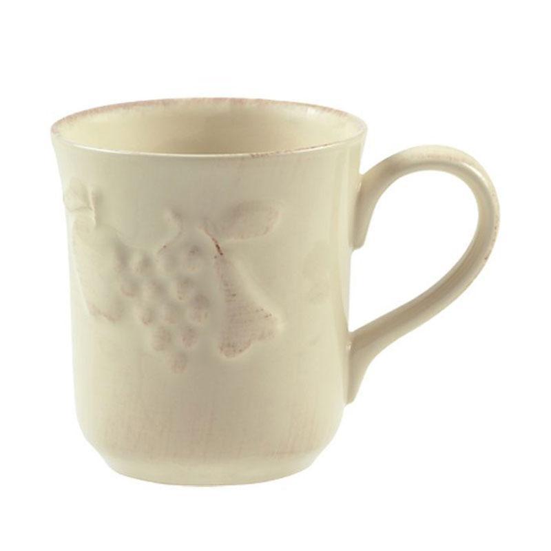 Чашка из прочной керамики бежевого цвета Mediterranea