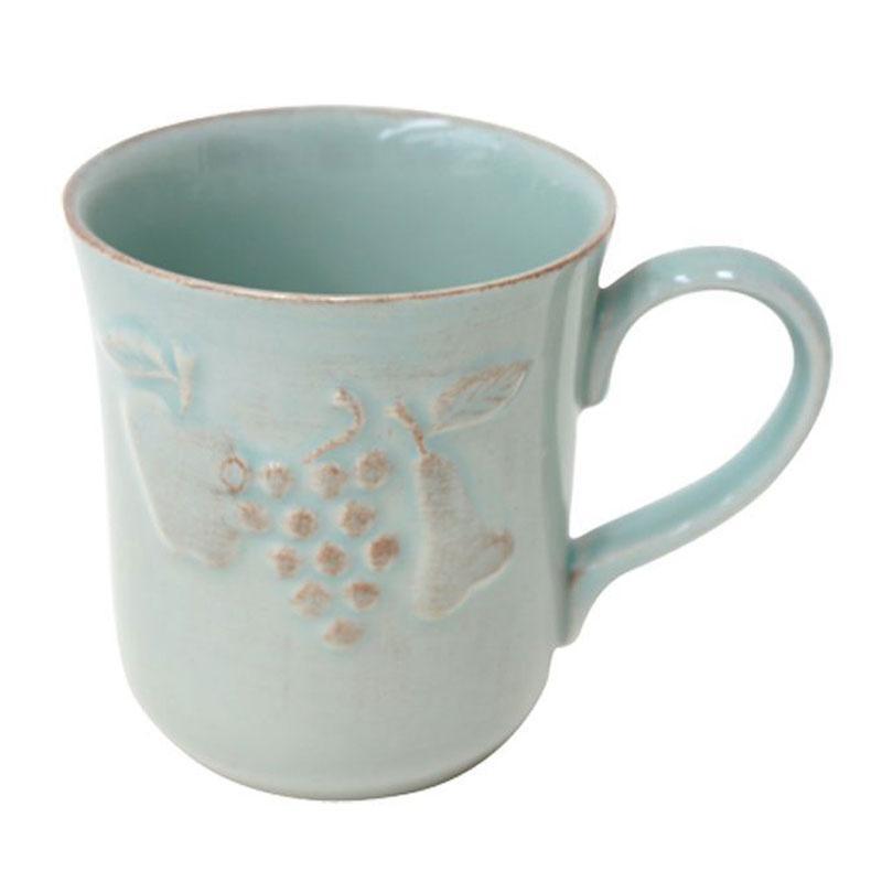 Бирюзовая чашка с эффектом потертости Mediterranea