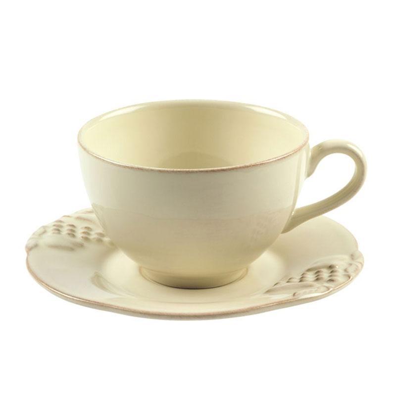 Набор из 6-ти чайных чашек с блюдцами Mediterranea