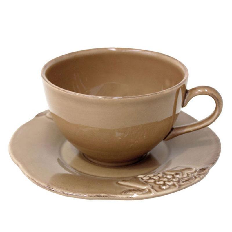 Чашки с блюдцами 6 шт Mediterranea