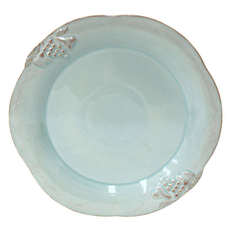 Тарелка подставная бирюзовая Mediterranea