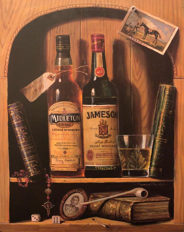 """Набор из 3-х картин """"Виски"""""""