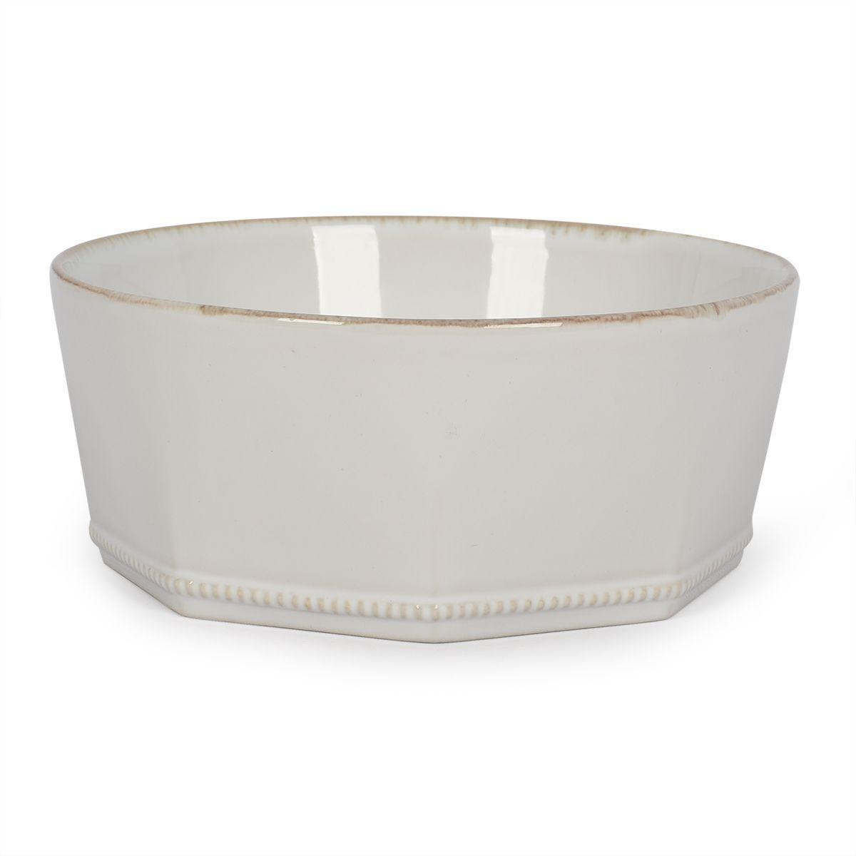 Тарелка для супа белая Luzia