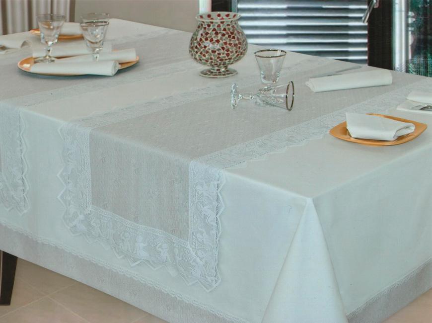 Комплект скатерть и 12 салфеток Puttini