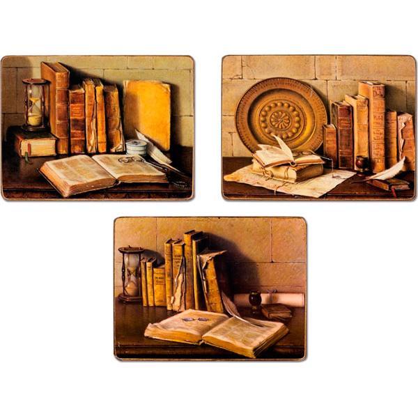 """Набор 3-х картин """"Книги"""""""