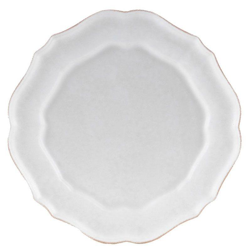 Белые тарелки, набор 6 шт Impressions