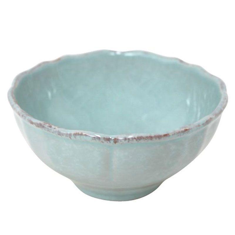 Пиала из огнеупорной керамики голубого цвета Impressions