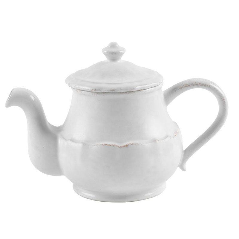 Белый заварник для чая Impressions