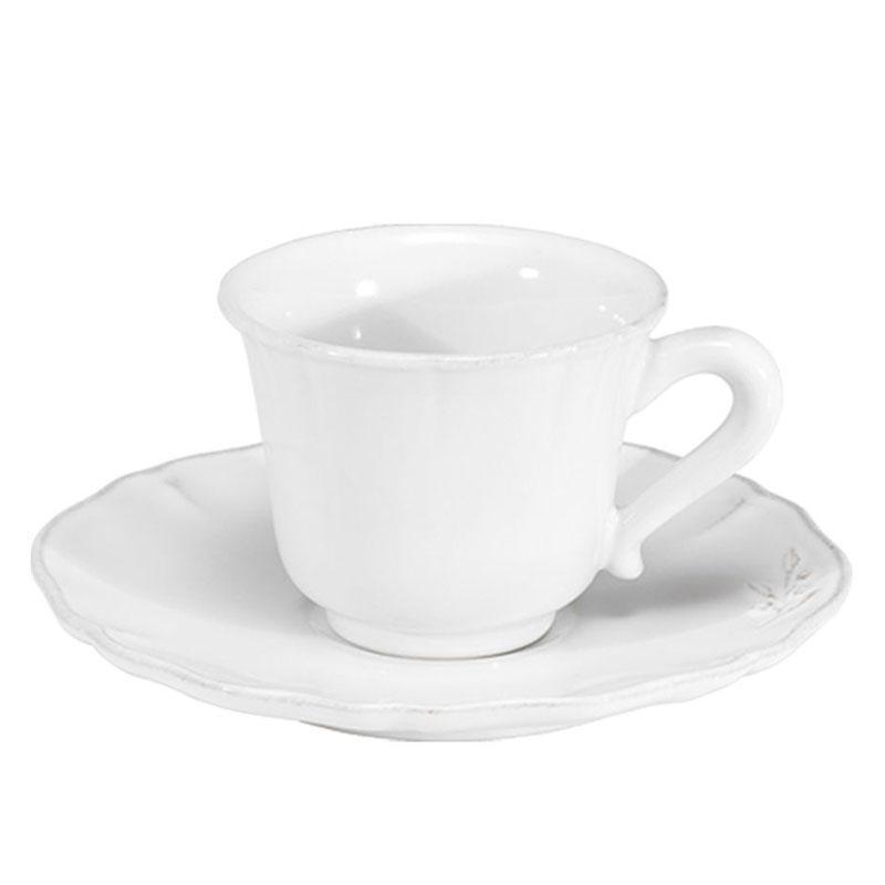 Чашки с блюдцами для чая, набор 6 шт. Alentejo